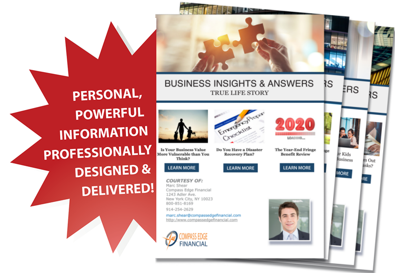 Business e-Newsletter Sample