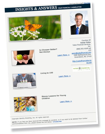 e-Financial e-Newsletters